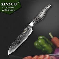 japanese kitchen knives 5 inches santoku knife japanese vg10 damascus kitchen knives