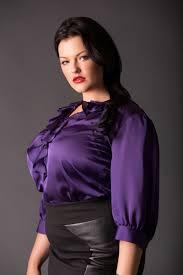 plus size silk blouse purple plus size satin blouse satin clothes satin