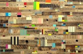 wood painting abstract painting with reclaimed wood by duncan johnson upcyclista