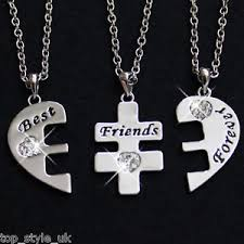 necklace best friends images Three best friends necklace rrp 49 bestfriends 4 life crystal jpg