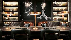 Interior Design Show Las Vegas Montecristo Cigar Bar Is Las Vegas U0027 Newest Offering More Than