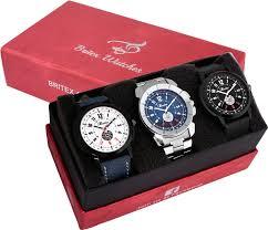 Britex Stainless by Britex Bt6128 36 39 Hybrid Combo Watch For Men Buy Britex