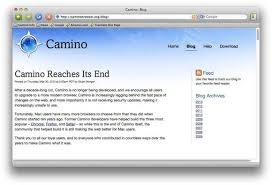 camino browser camino browser project discontinued after ten years macworld