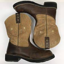 womens ariat fatbaby boots size 11 ariat fatbaby boots womens rodeobaby 10005878 brown