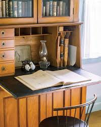 Drop Lid Secretary Desk by History Of The Desk Old House Restoration Products U0026 Decorating