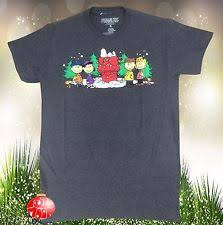snoopy christmas t shirts peanuts snoopy t shirts for men ebay