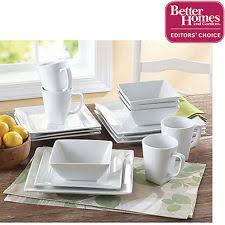 solid pattern square porcelain dinner service sets ebay