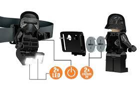 Lego Darth Vader Led Desk Lamp Lego Star Wars Santoki