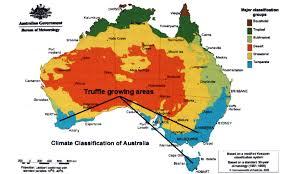 Austrailia Map New Potential Map Where To Grow Truffles In Australia Trufflefarming