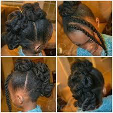 sdestra twisted frohawk on madimel u0027s natural hair mohawk fauxhawk