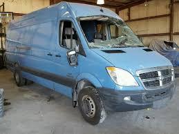 dodge cer vans for sale salvage certificate 2007 dodge sprinter extended 3 0l 6 for sale