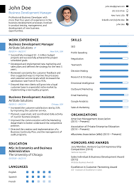 2018 professional résumé templates as they should be 8