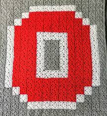 Ohio State Home Decor Crochet Pattern Pattern For Ohio State Inspired Crochet