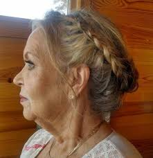 upsweep hairstyles for older women 40 stylish long hairstyles for older women updo hair style and