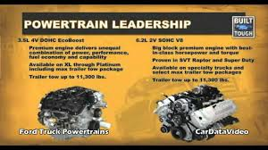 Ford F150 Truck Engines - 2011 ford f150 pickup truck powertrain 4 new engines ecoboost