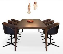 Corian  Walnut Extending Dining Table Wharfside - Corian kitchen table