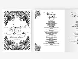 Wedding Program Paddle Fan Template Fan Invitation Template Wedding Fan Template Etsy Wedding