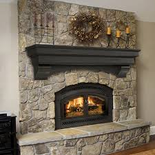 pearl mantels pearl celeste espresso fireplace mantel shelf woodlanddirect com