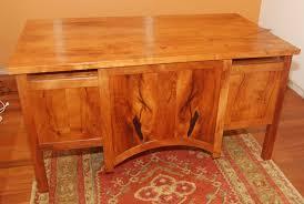 Mesquite Desk McNitt Bros Wood Works Tucson Custom Furniture - Home office furniture tucson