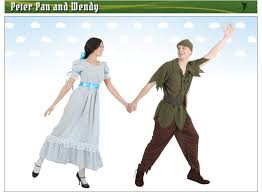 Peter Pan And Wendy Halloween Costumes by Peter Pan U0026 Tinkerbell Costumes Halloweencostumes Com