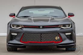 camaro custom grill 2016 chicago blackhawks chevy camaro ss coupe the chavez report