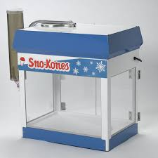 sno cone machine rental concession equipment rental pittsburgh pa