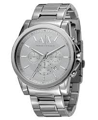armani steel bracelet images A x armani exchange x armani exchange men 39 s chronograph stainless tif