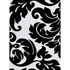 Black White Area Rug Contemporary Black Damask Rug 8 By 10
