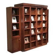 sliding bookcase murphy bed bedroom murphy bookcase plans sliding bookshelf canada slide