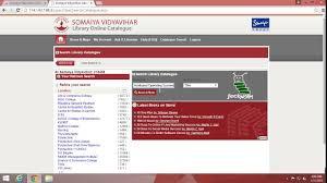 online tutorial library somaiya online library tutorial youtube