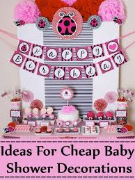baby shower decorations great ideas for cheap baby shower decorations cheap baby shower