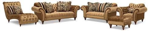 Value City Furniture Sofas by The Brittney Living Room Collection Bronze Value City Furniture