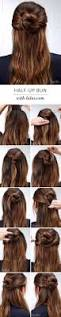 amazing half up half down hairstyles for long hair lulus how to