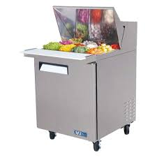 36 inch sandwich prep table air 28 inch refrigerated food prep table with 12 1 6 size pans
