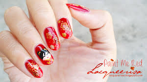 chinese new years like a boss pinterest nail art new years nail