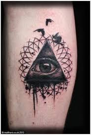 eye god tattoo by matt hunt