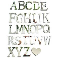 letter home decor wall decor awesome mirrored letter wall decor ideas wall