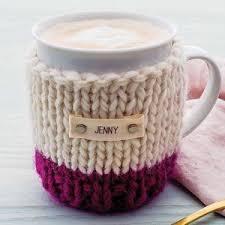of gold crochet cup cozy pattern for a starbucks grande cup tea u0026 coffee cosies notonthehighstreet com