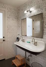 Double Trough Sink Bathroom Sinks Marvellous Trough Sinks For Bathrooms Trough Sinks For