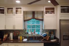 Kitchen Cabinet Valance by Kitchen Valances For Windows Contemporary Casanovainterior