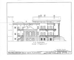 incredible louisiana mansion floor plans 10 belle grove plantation