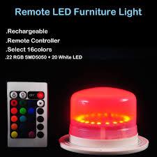 wholesale led under table lights 2018 wholesale under table cloth lighting remote led furniture