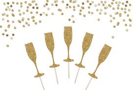 champagne glass svg champagne flute cupcake toppers champagne cake topper new