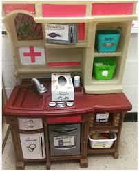 preschool kitchen furniture preschool dramatic play center transform a play kitchen into a