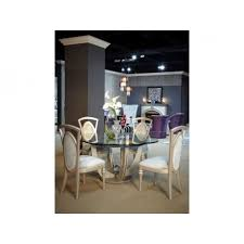 aico overture round table dining set