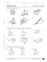 volume of pyramid worksheet free worksheets library download and