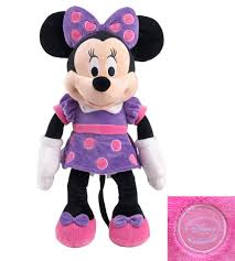 original minnie mouse toy 48cm minnie plush toy purple cute mickey