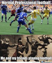 Football Player Meme - yay football by vitor1993 meme center