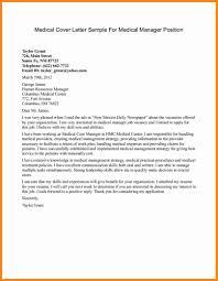 Medical Cover Letter Template by 9 Medical Letter Sample Model Resumed