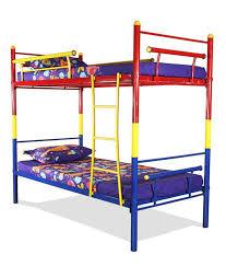 FurnitureKraft Bunk Bed In Multi Color Steel Buy FurnitureKraft - Steel bunk beds
